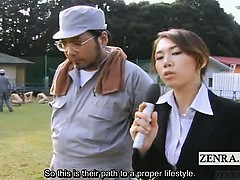 subtitle-outdoor-bdsm-cmnf-japanese-group-penis-worship