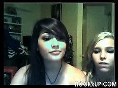 Two Teens Playing On Cam - Hookxup_
