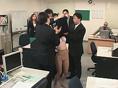 hot-asian-office-babe-sexually-tortured-at-work