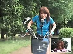 asian-teen-sweeties-riding-bikes-with-dildos-in-their-cunts
