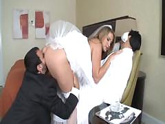Alanah Rae is a hot bride who gets a large cock for her pleasure