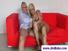 british-fishnet-babe-fucks-old-man