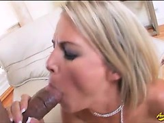 Her ass gets pounded really hard by a big cock