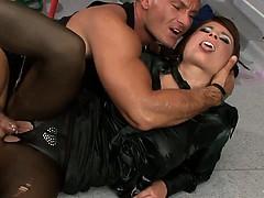 clothed-satin-slut-fuck-cumshot