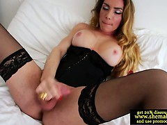 solo-shemale-cums-all-over-her-corset