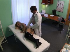 blonde-babe-sucks-cock-and-gets-fucked-by-her-doctor