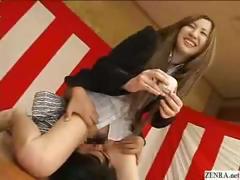 bottomless-no-panties-japanese-employees-play-sex-games