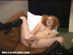 julia-moans-from-brutal-dildo-insertion