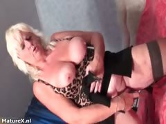 Mature Whore Gets Horny Dildo Fucking Part2
