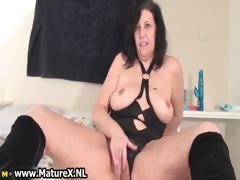Old Horny Mom In A Sexy Part3