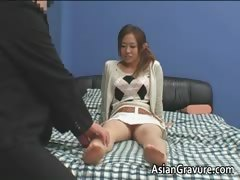 Sexy asian with big breasts home teacher part5