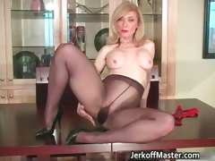 Slutty Blond Mum With Big Hooters Part5